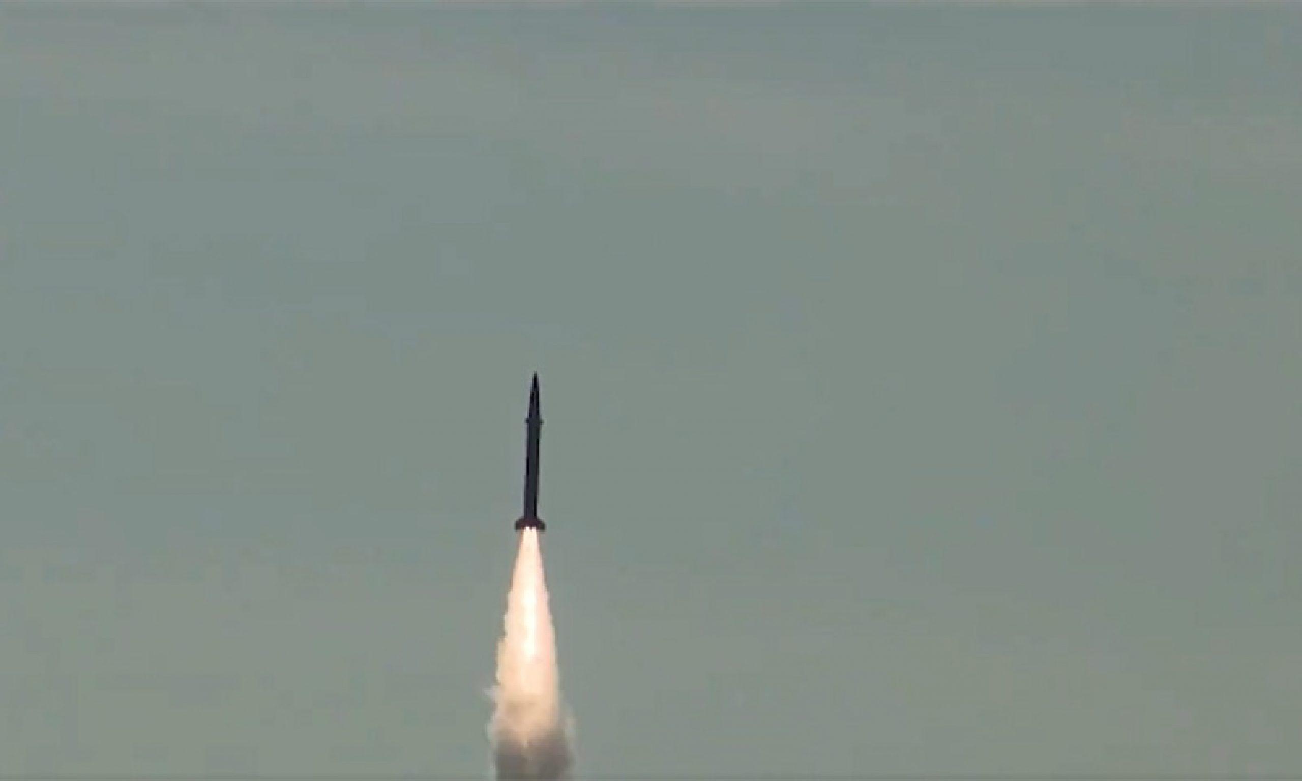 ballistic missile Shaheen-I