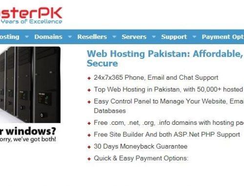 Best hosting in Pakistan