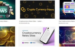 cyptocurrency new sites