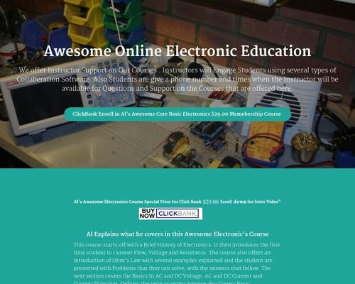 Al's Electronic Class Room | Al's Electronic Class Room