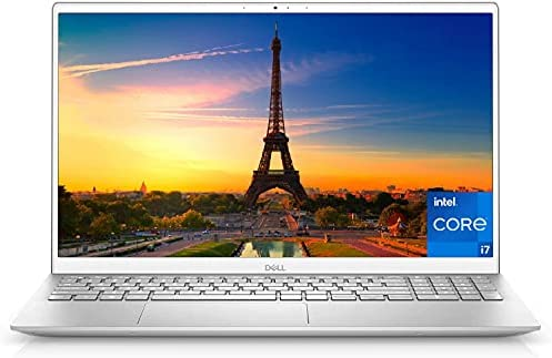 2021 Newest Dell Inspiron 5000 Series 15.6'' FHD Laptop, Intel Core i7-1165G7, 64GB RAM 1TB PCIe SSD, Webcam, Backlit Keyboard, FP Reader, Windows 10 Home, Silver