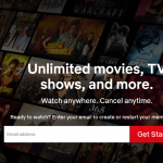 Netflix data usage